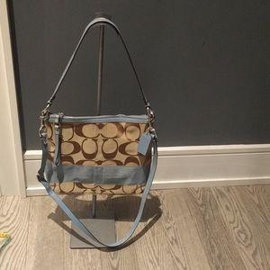 Beautiful monogram crossbody bag by Coach 🍀